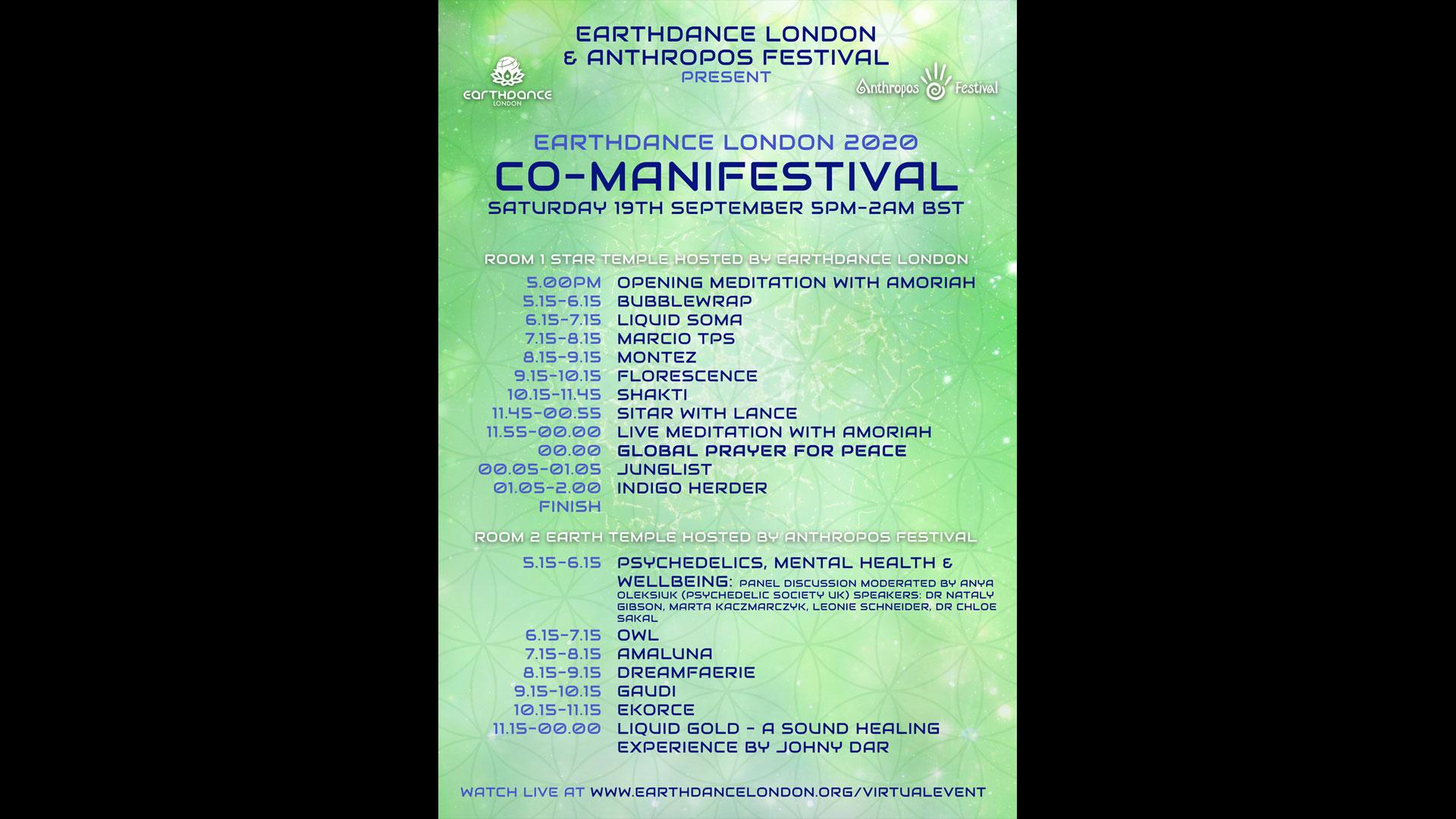Earthdance Vision 2020 Co-Manifestival